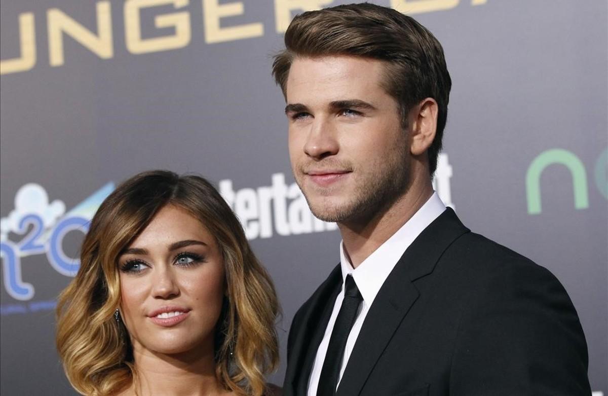 Liam Hemsworth rompe con Miley Cyrus