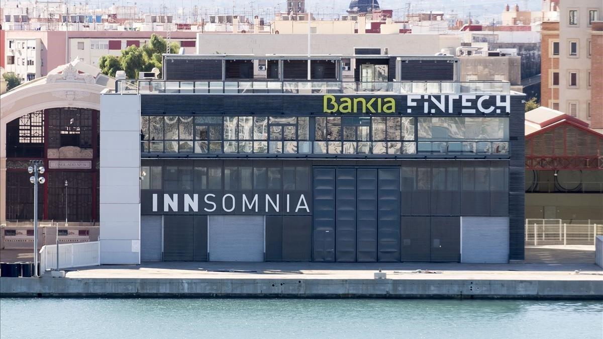 Sede de Bankia Fintech by Innsomnia en Valencia.