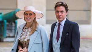 Beatriz de York y su prometido Edoardo Mapelli Mozzi.
