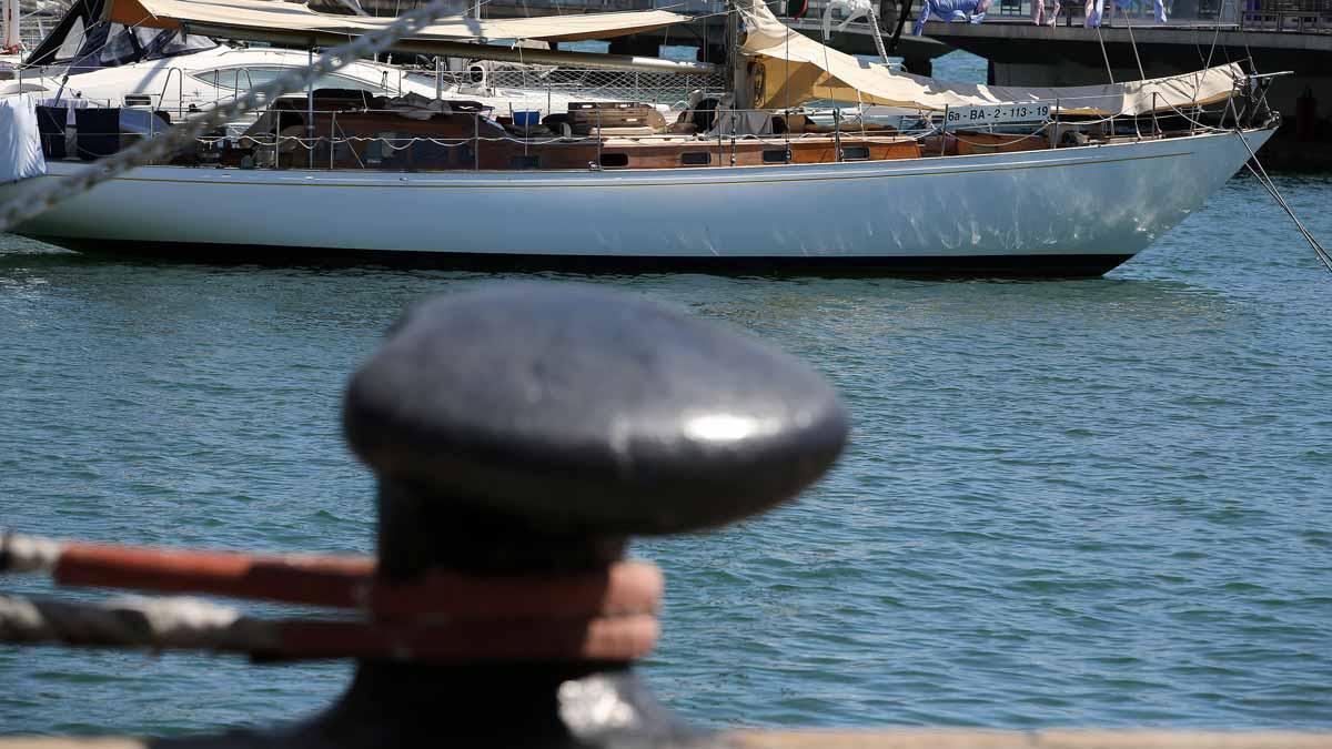 El Port Vell de Barcelona.