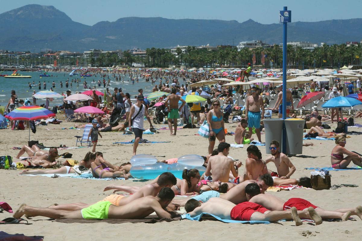 Playa de Levante de Salou, en Tarragona.