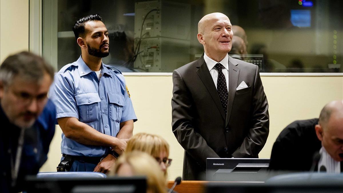 Jadranko Prlic, este miércoles, en el Tribunal Penal Internacional para la ex-Yugoslavia.