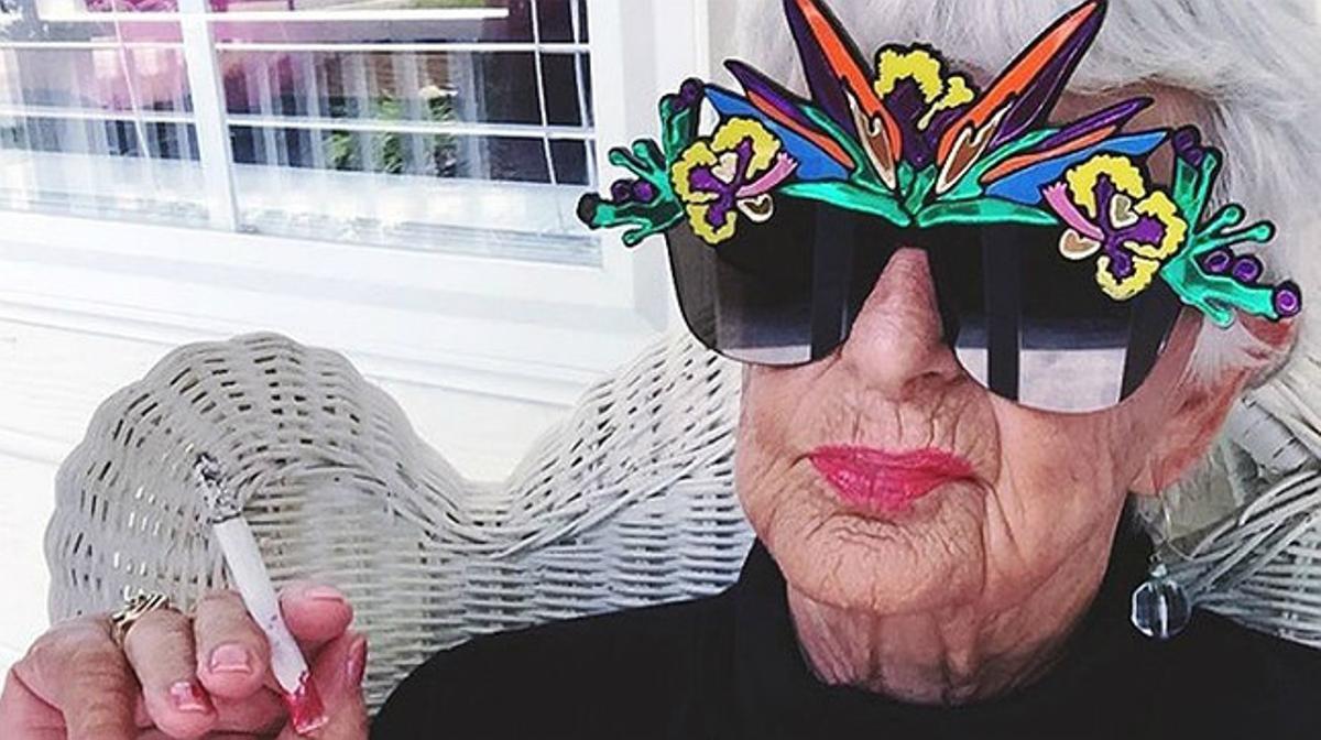 'Baddie Winkle' va guanyar prop de 5.000 seguidors en el seu primer dia a Instagram.