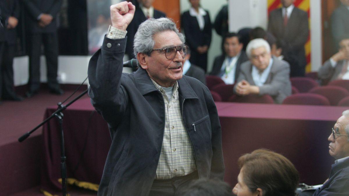 El exlíder de Sendero Luminoso, Abimael Guzmán, en imagen de archivo.