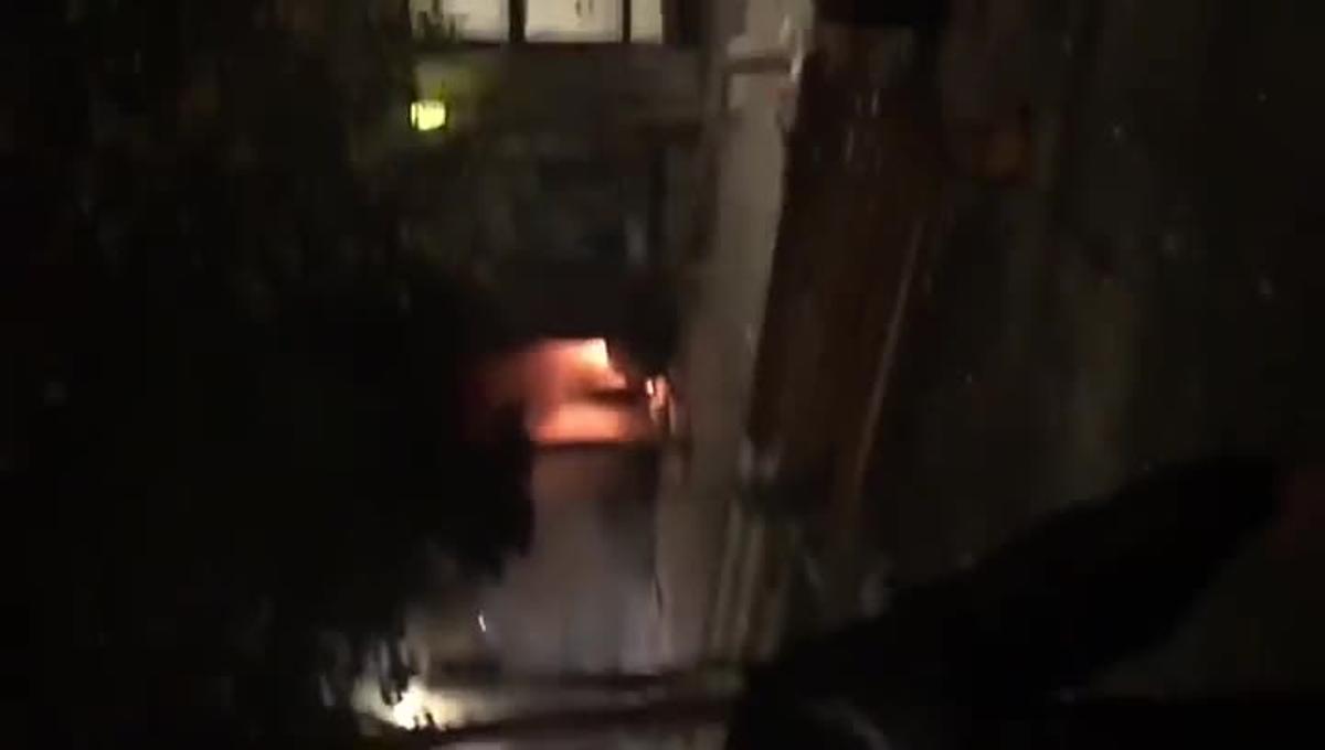 Batalla campal en el barrio de Lavapiés tras la muerte de un mantero