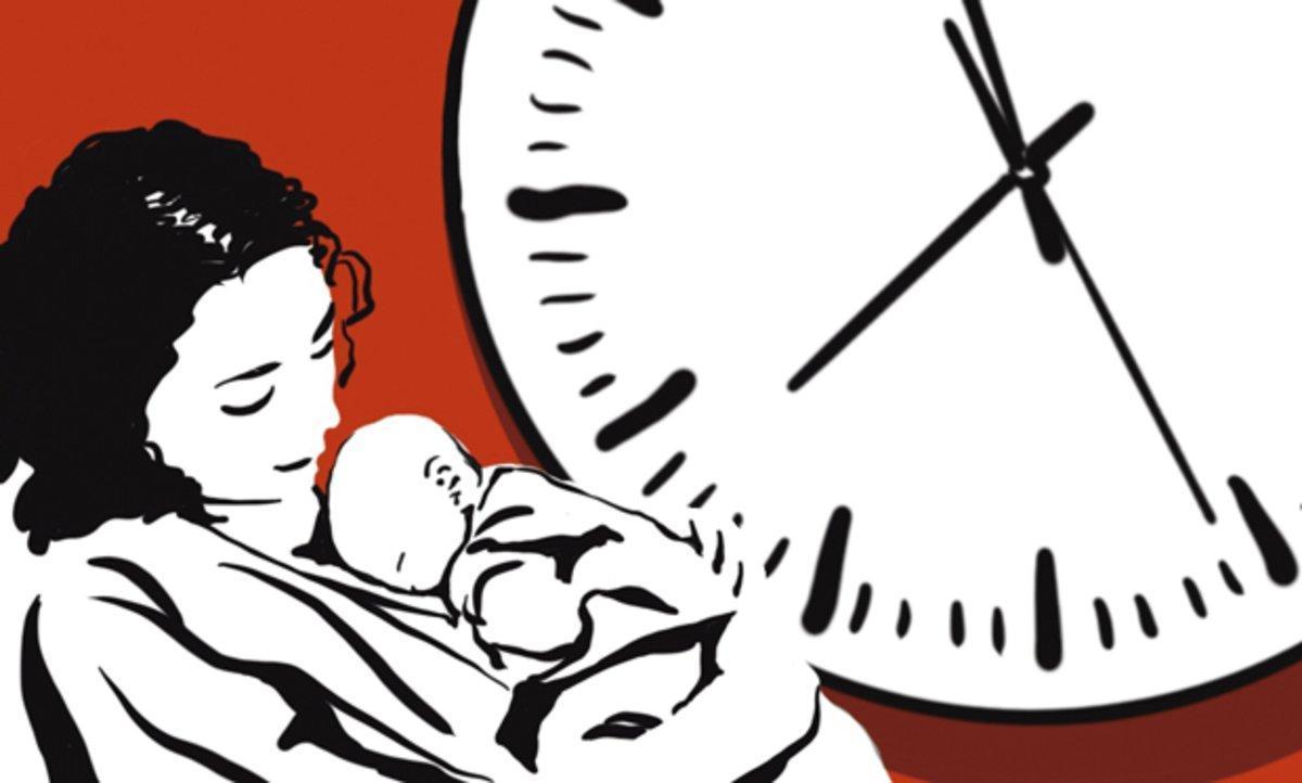 Quan la crisi colpeja la maternitat