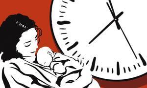Cuando la crisis golpea la maternidad