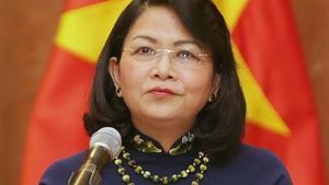 Dang Thi Ngoc Thinh, nueva presidenta interina de Vietnam.