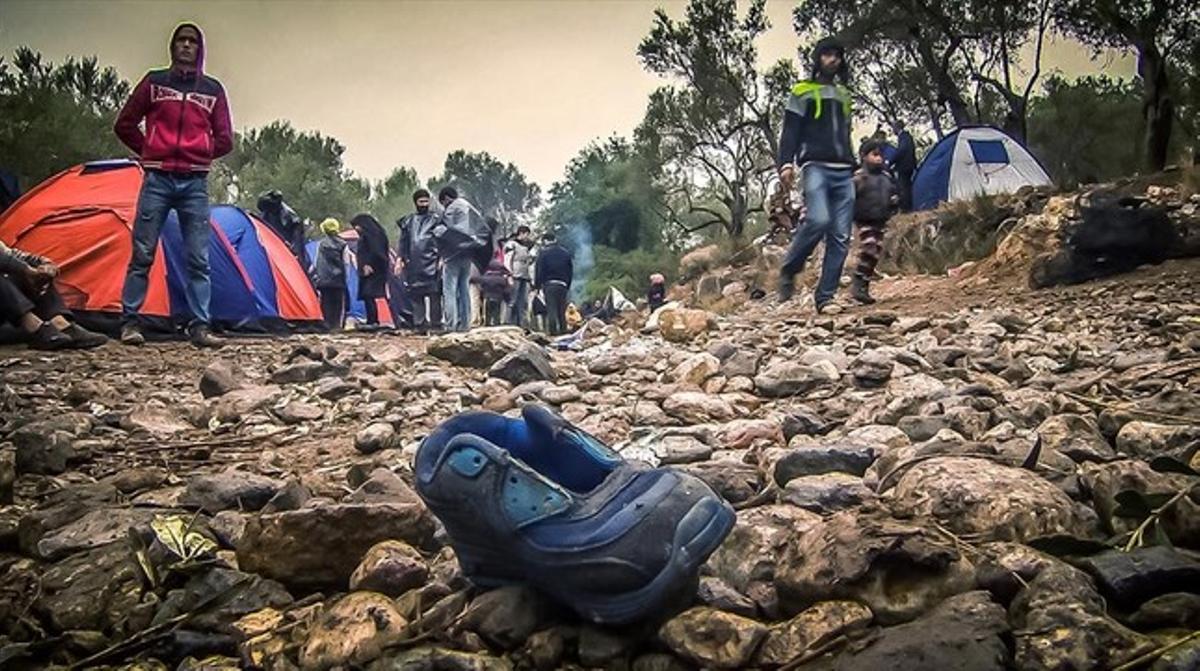 Imagen deldocumental de TV-3 'To Kyma. Rescat al mar Egeu'.