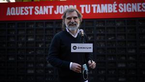 El presidente de Òmnium, Jordi Cuixart.