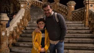Javier Sierra y su hijo Martín, protagonistas de 'Otros mundos' en Movistar+.