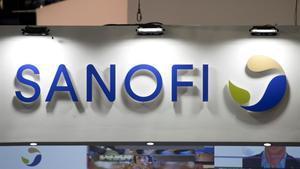 Logo de la farmacéutica Sanofi.