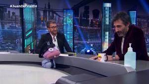 Pablo Motos, Barrancas y Juan del Val en 'El hormiguero'