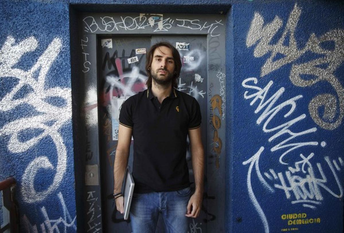 Rubén Santamarta, el pasado 30 de julio en Coslada (Madrid).