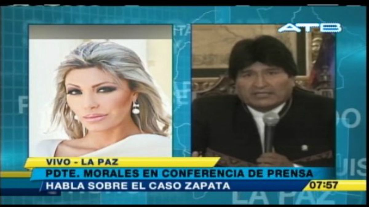El presidente de Bolivia, Evo Morales, reclama conocer a su hijo, que creía muerto.