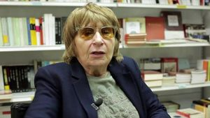 La escritora Antònia Vicens.
