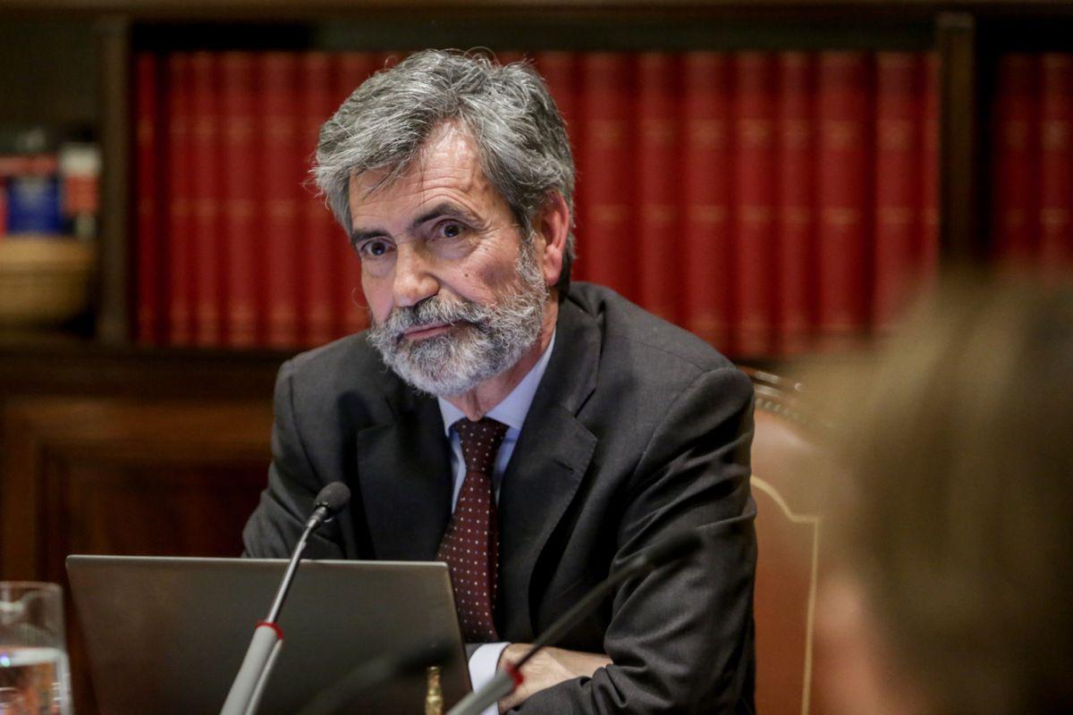 Carlos Lesmes, presidente del Consejo General del Poder Judicial (CGPJ) /