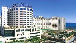 Imagen de parte de las instalaciones hoteleras de Marina d'Or en Oropesa.