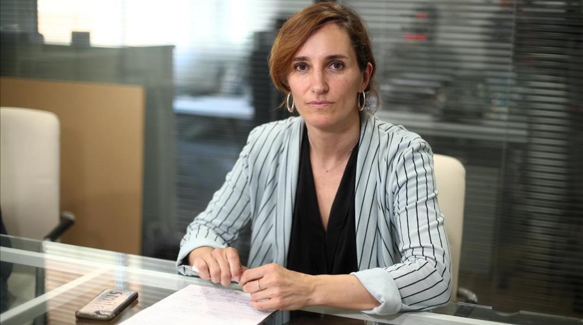 Mónica García.