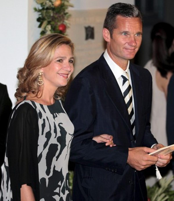 La Infanta Cristina y su esposo Iñaki Urdangarín en una imagen de archivo.