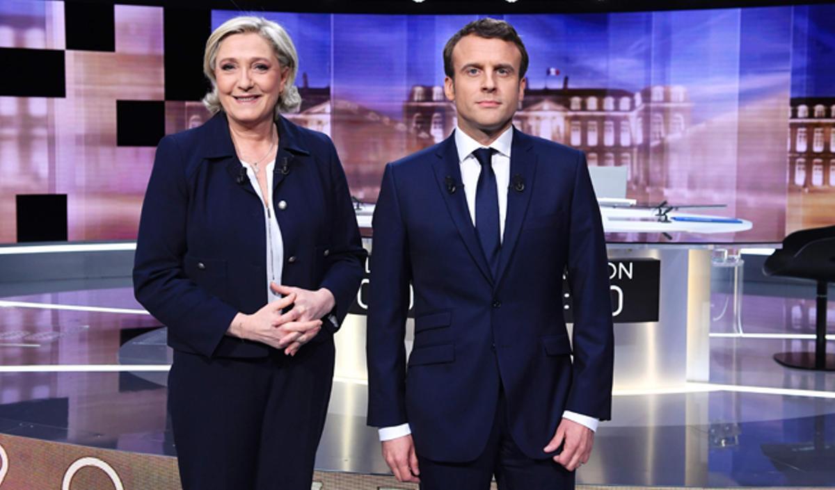 Le Pen saca provecho de su política discreta durante la pandemia