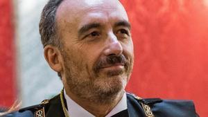 El magistrado Manuel Marchena, presidente del tribunal que juzga en el Supremo a la cúpula del 'procés'.