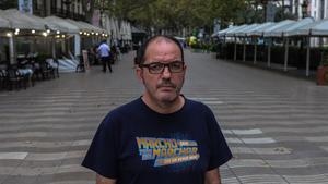 Fermín Villar, el miércoles en la Rambla.