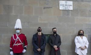 Barcelona homenatja l'urbà Gervilla 20 anys després de ser assassinat per ETA