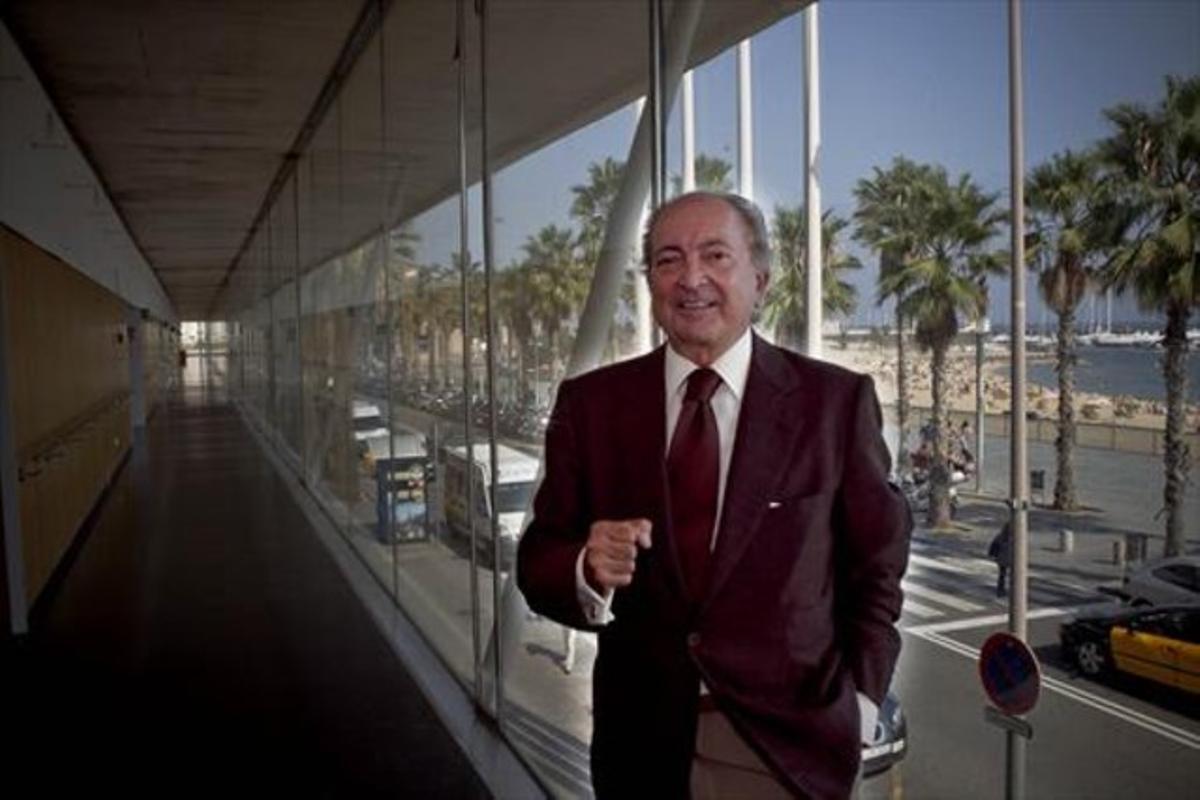 Antoni Miquel, 'Leslie', en el Hospital del Mar en septiembre del 2011.