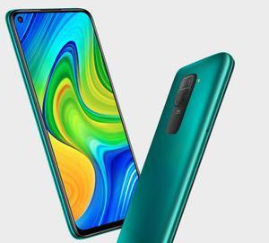 Xiaomi Redmi Note 9 color verde.