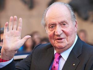 Juan Carlos, en una imagen de archivo en junio de 2018.