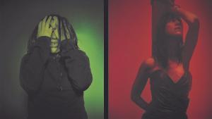 Béatriz Dalle y Charlotte Gainsbourg, en una imagen promocional de 'Lux Aeterna', de Gaspar Noé