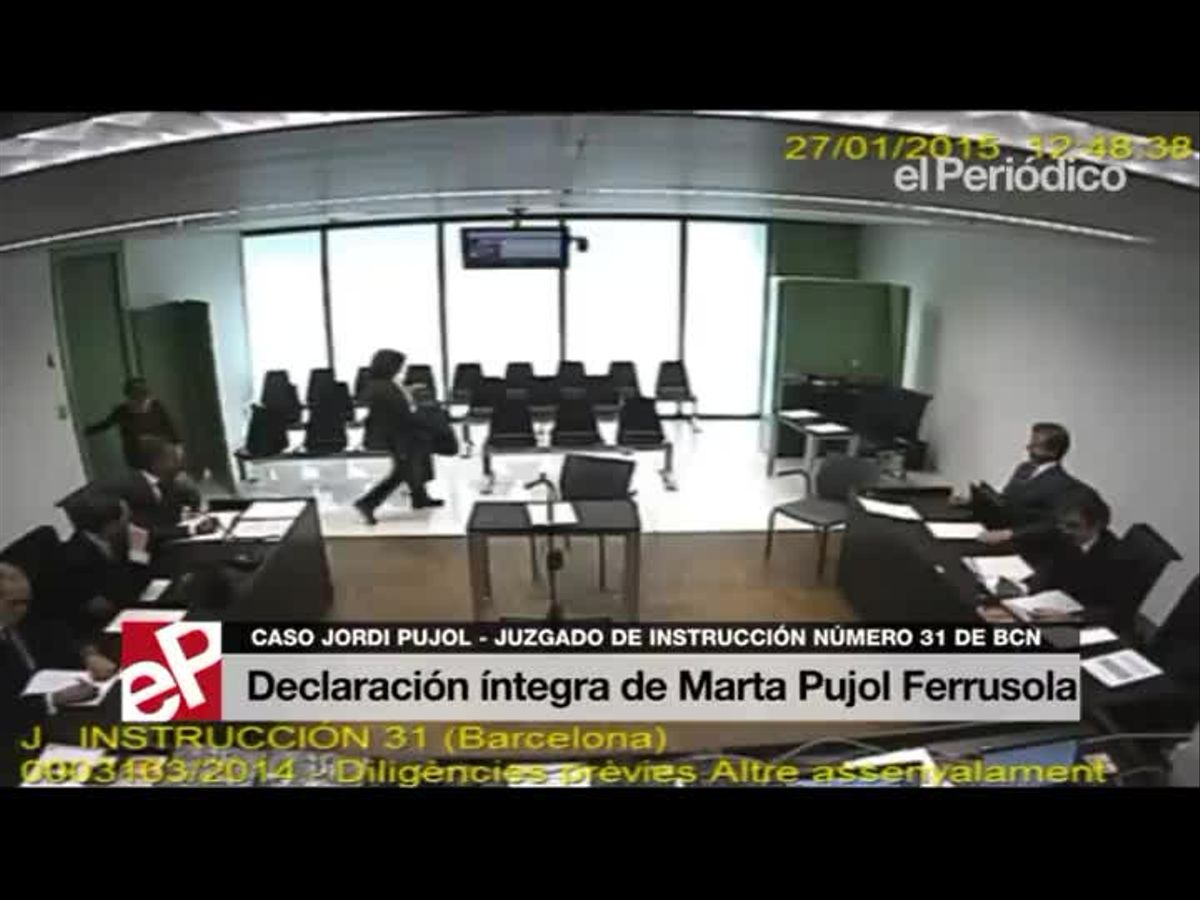 Declaración íntegra de Marta Pujol Ferrusola.