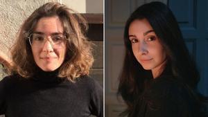 Irene Pujadas y Laia Viñas, ganadoras del Documenta.