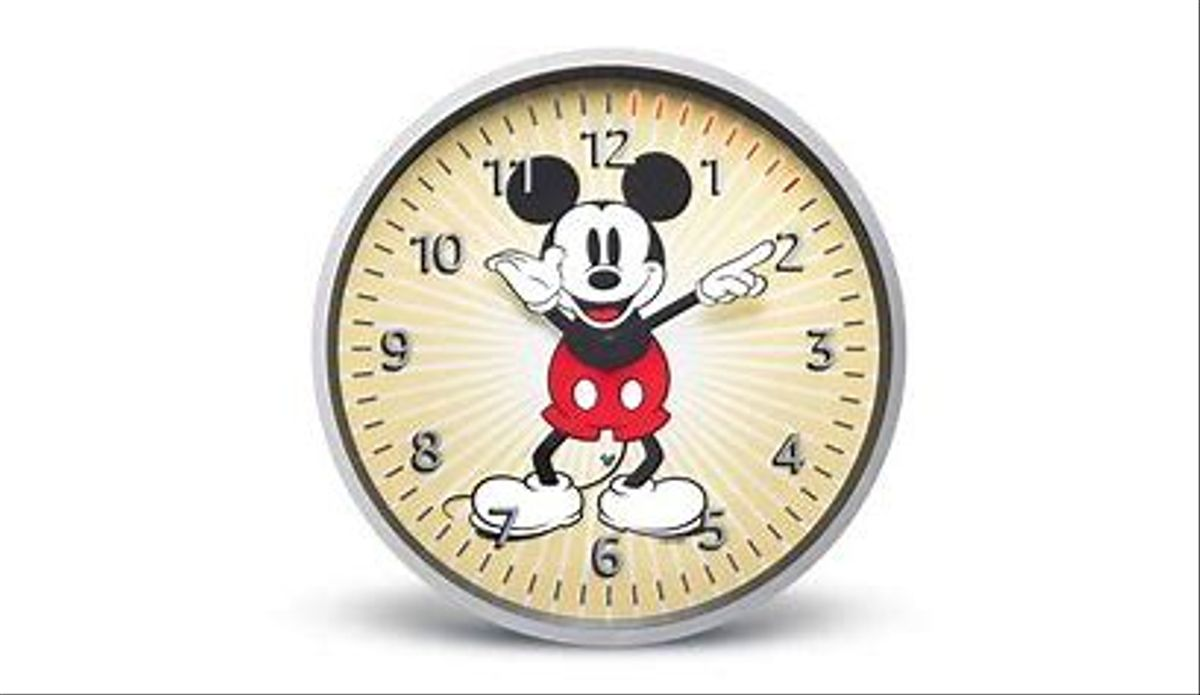 Reloj Disney.