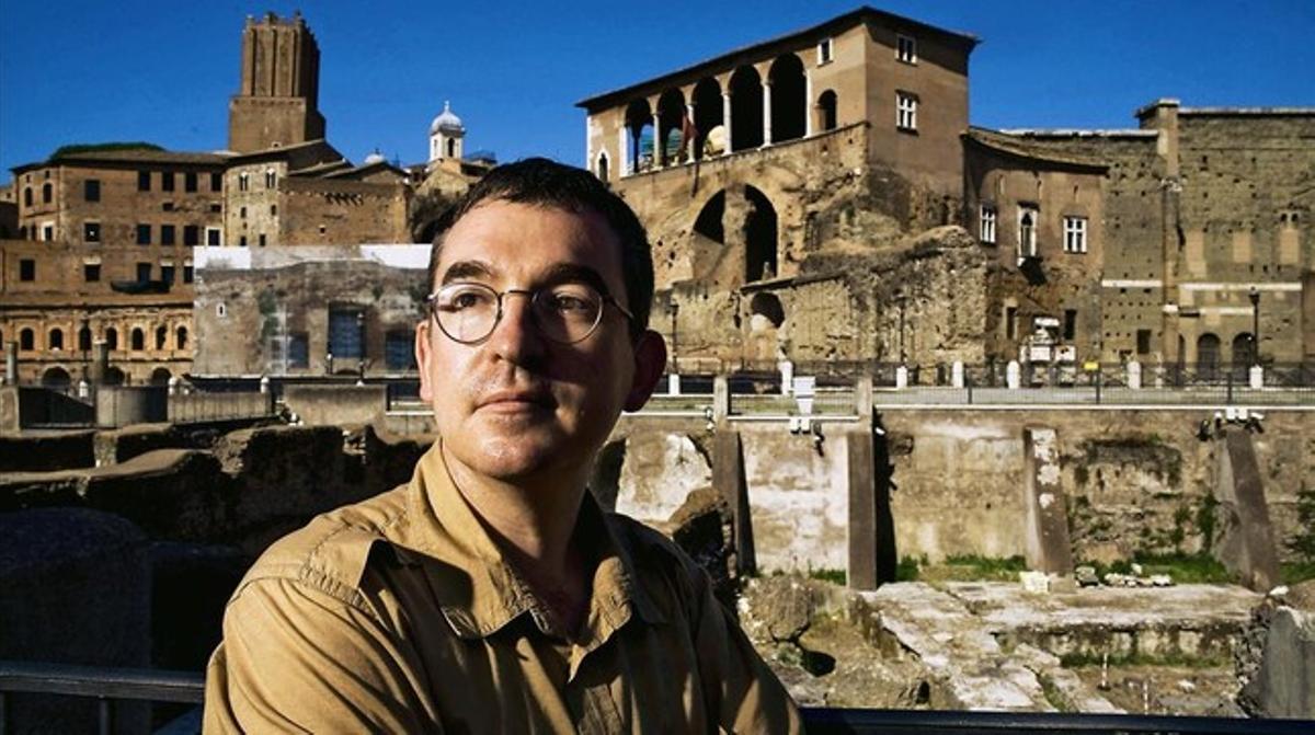 El premio Barcino de novela histórica, para Santiago Posteguillo