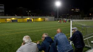 El barrio del Baró de Viver recupera su campo de fútbol después de 35 años sin él.