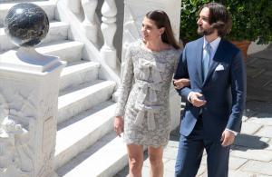 Carlota Casiraghi y Dimitri Rassam se han casado en el palacio Grimaldi.