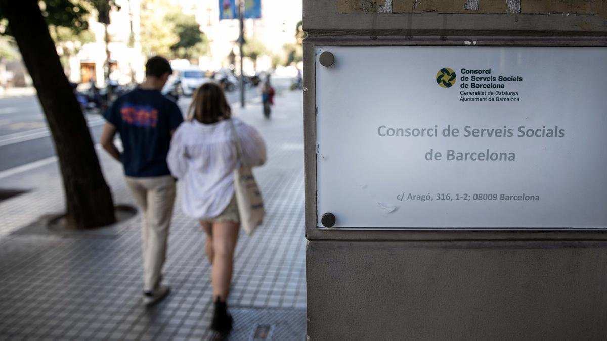 Sede del Consorci de Servei Socials de Barcelona.