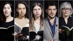 Laia Carbonell, Ashle Ozuljevic, Anna Gas,David Leo yLaura López Granell, cinco voces para el festival de Barcelona Poesia.