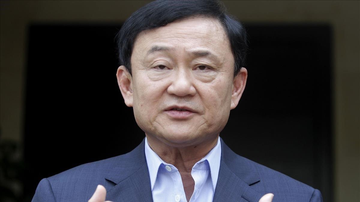 El exprimer ministro tailandés,Thaksin Shinawatra.