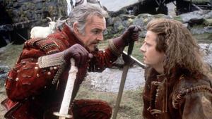 Sean Connery y Christopher Lambert, en 'Los inmortales'.
