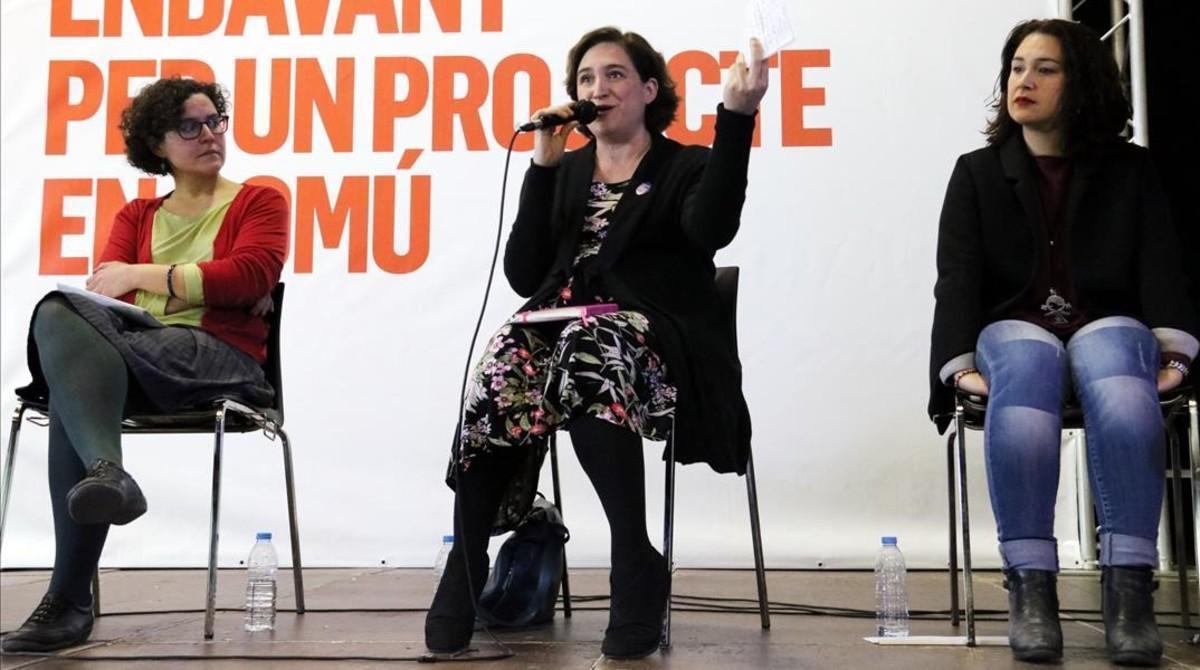 Colau pide a Podem confluencia estable en lugar de coaliciones