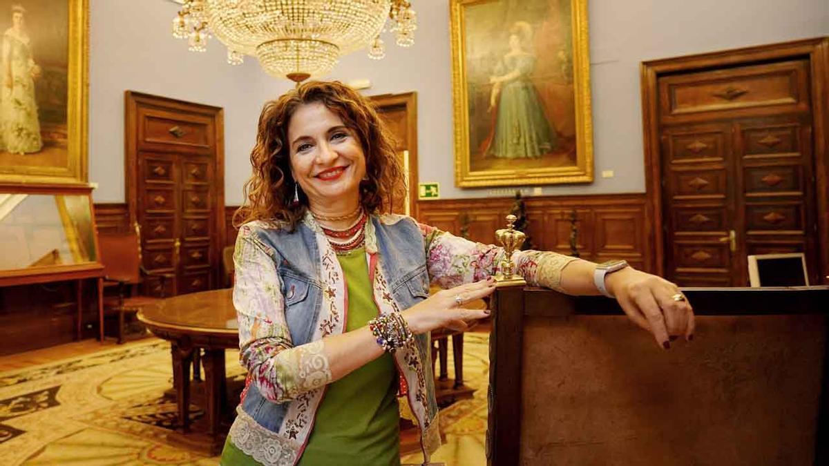 Entrevista a la ministra de Hacienda, María Jesús Montero