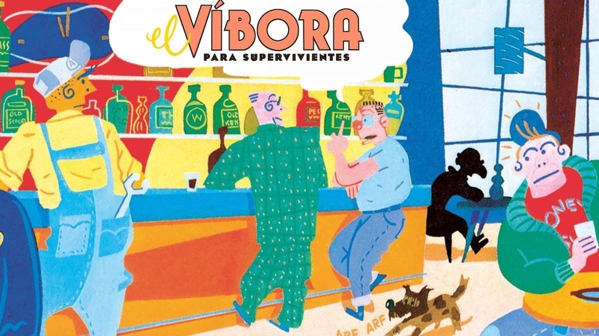 Viñeta de Gallardo para el especial confinamiento 'El Víbora para supervivientes'.