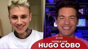 Hugo Cobo con Ricky García.