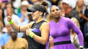 Bianca Andreescu gana a Serena Williams
