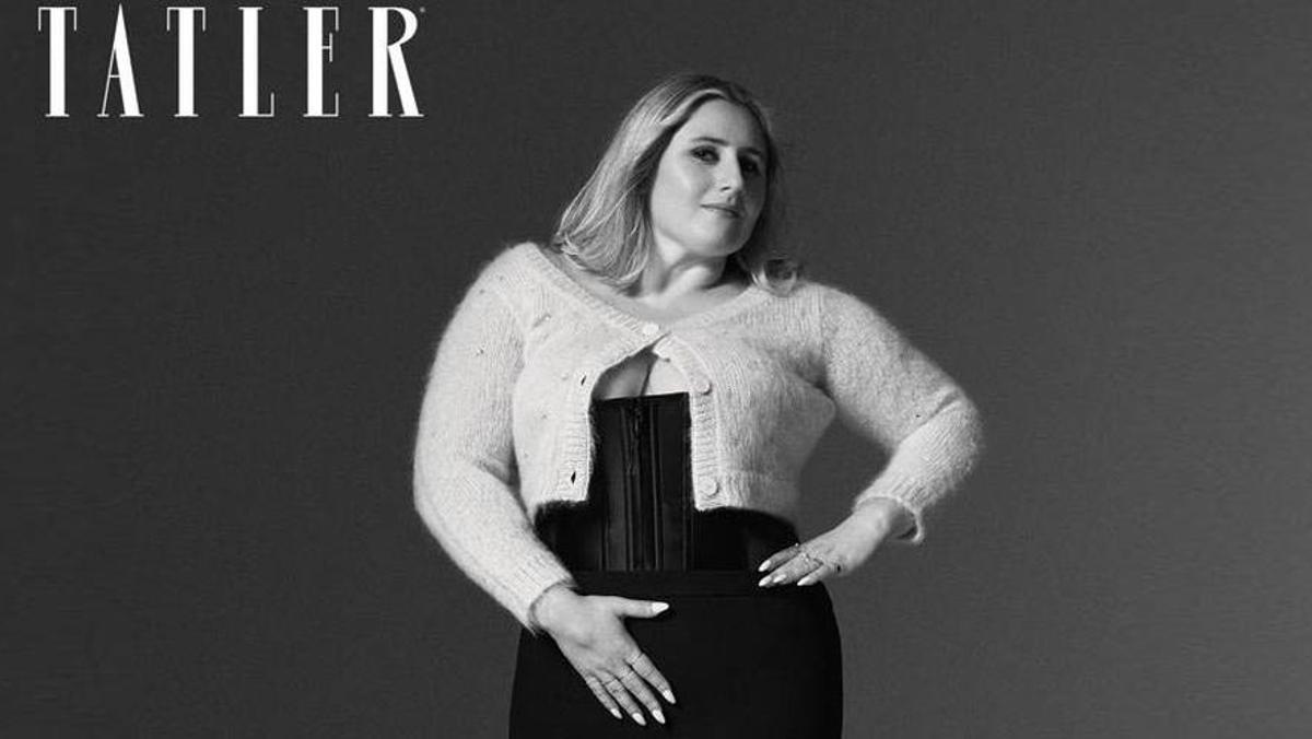 La hija de Boris Johnson posa en lencería para 'Tatler Magazine'
