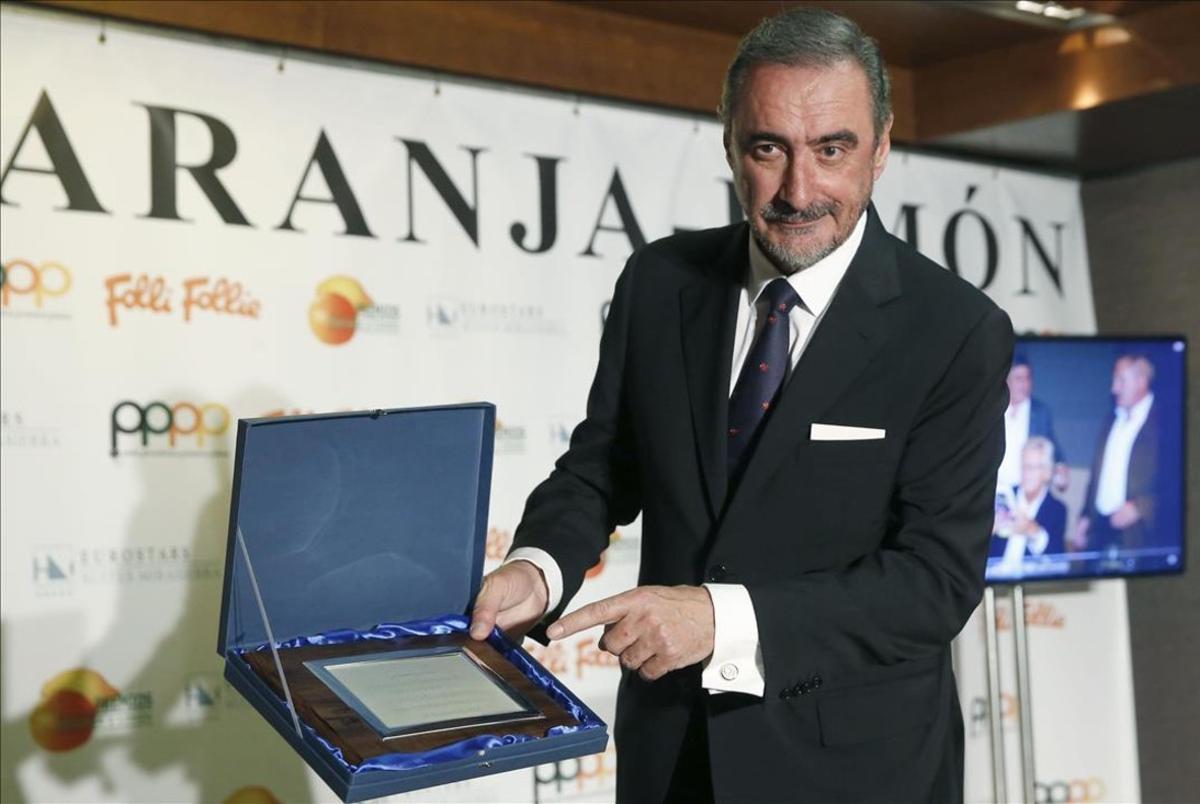 El locutor de la COPE Carlos Herrera, fichado por 'El programa de Ana Rosa'.