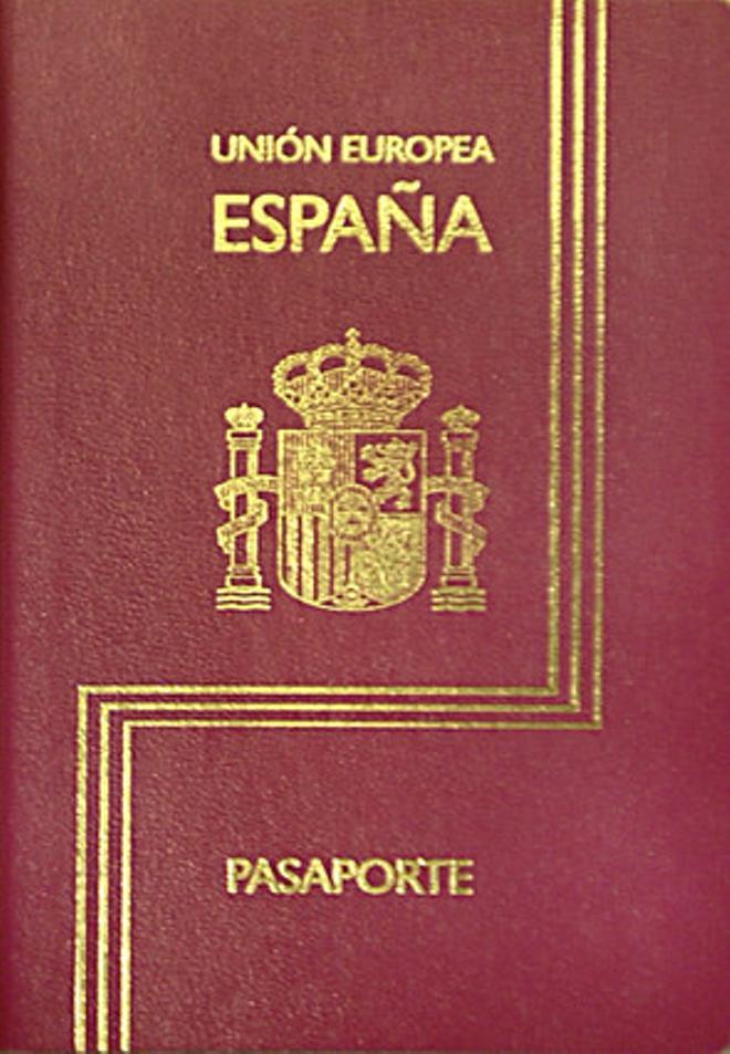 Passaport espanyol.